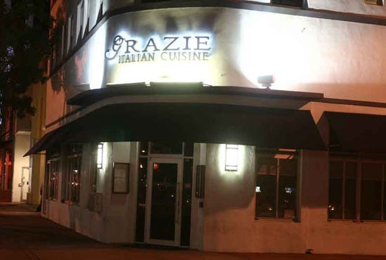 Grazie is one of the best restaurants in Miami, FL