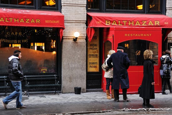 Balthazar on Spring Street