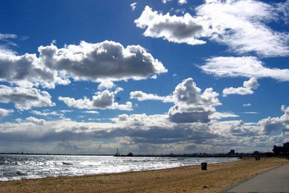 墨尔本海滩