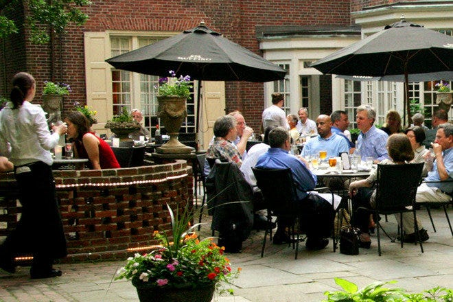 Restaurant Slideshow Outdoor Dining In Philadelphia