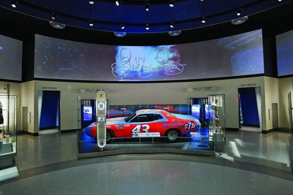 Nascar hall of fame charlotte attractions review 10best for Charlotte motor speedway museum