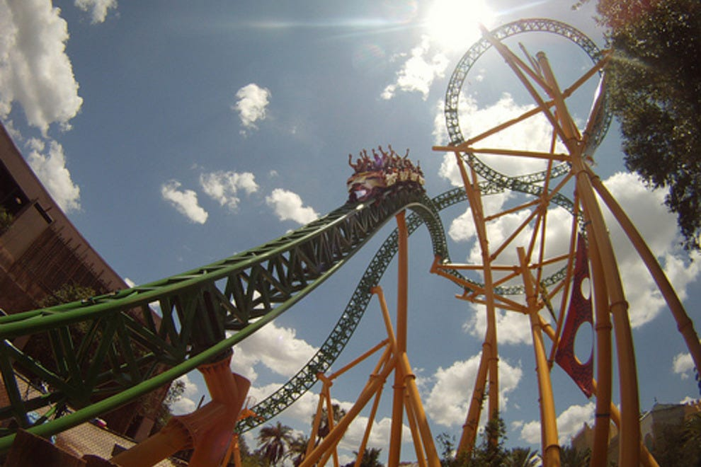 Tampa attractions and activities attraction reviews by 10best - Roller coasters at busch gardens ...