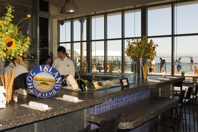 Waterfront Dining in San Francisco