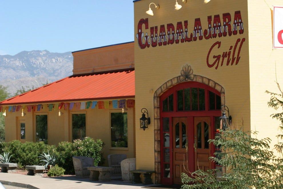 Guadalajara grill tucson restaurants review 10best for Cuisine az