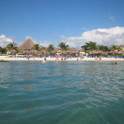 Playa Caracol is one of the best things to do in Cancun, Mexico