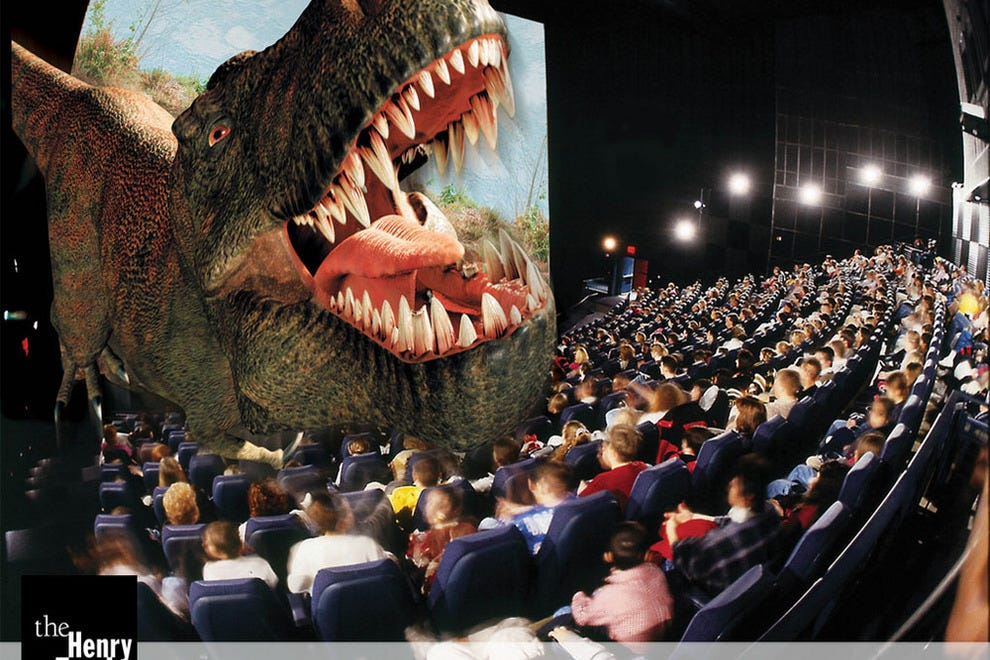 Digital 3-d movie theatures