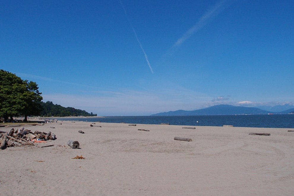 Locarno and Jericho Beaches