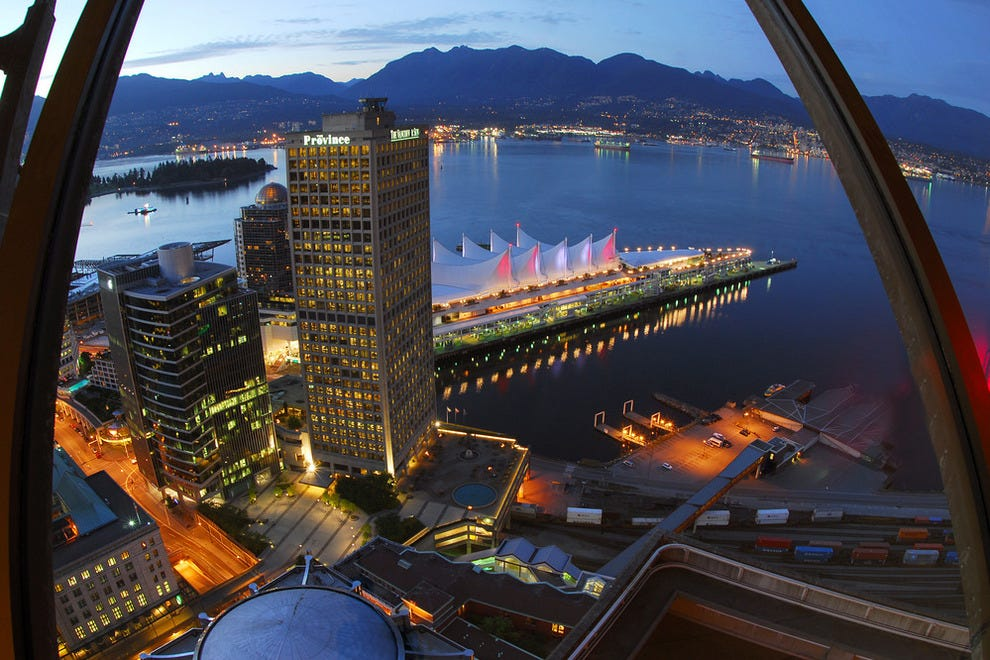 Harbour Tower Vancouver Restaurant