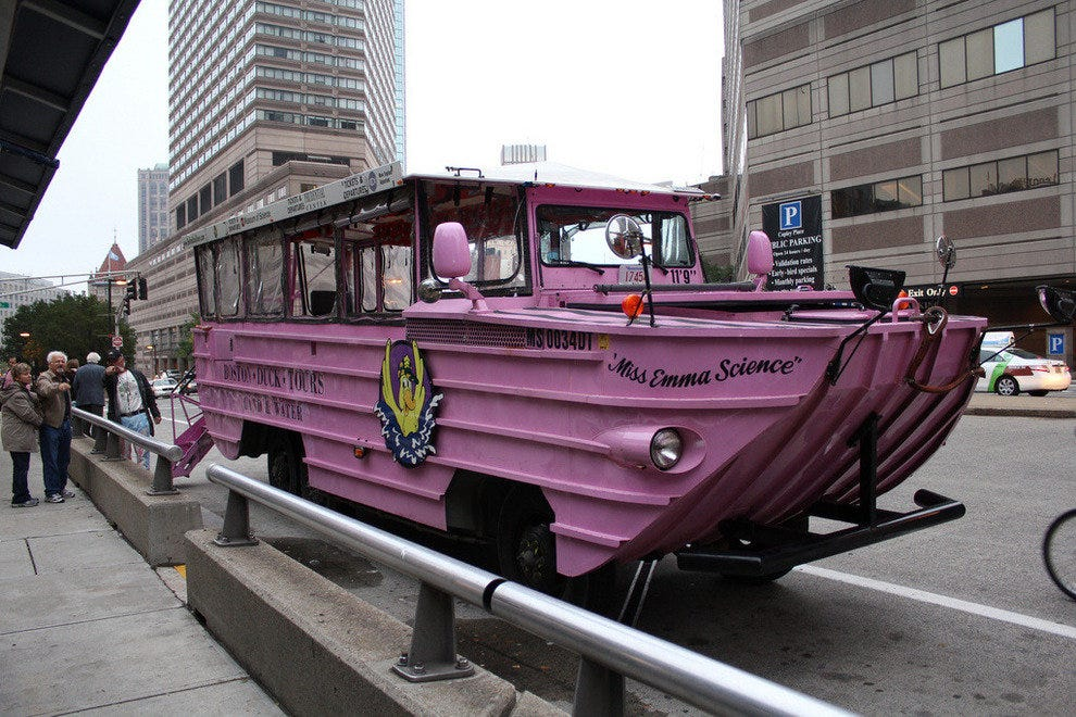 The Sealander isn't your average duck boat