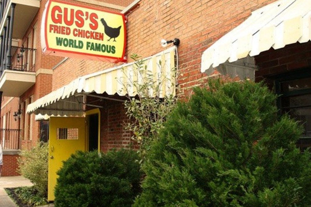 Gus's World Famous Hot & Spicy Fried Chicken