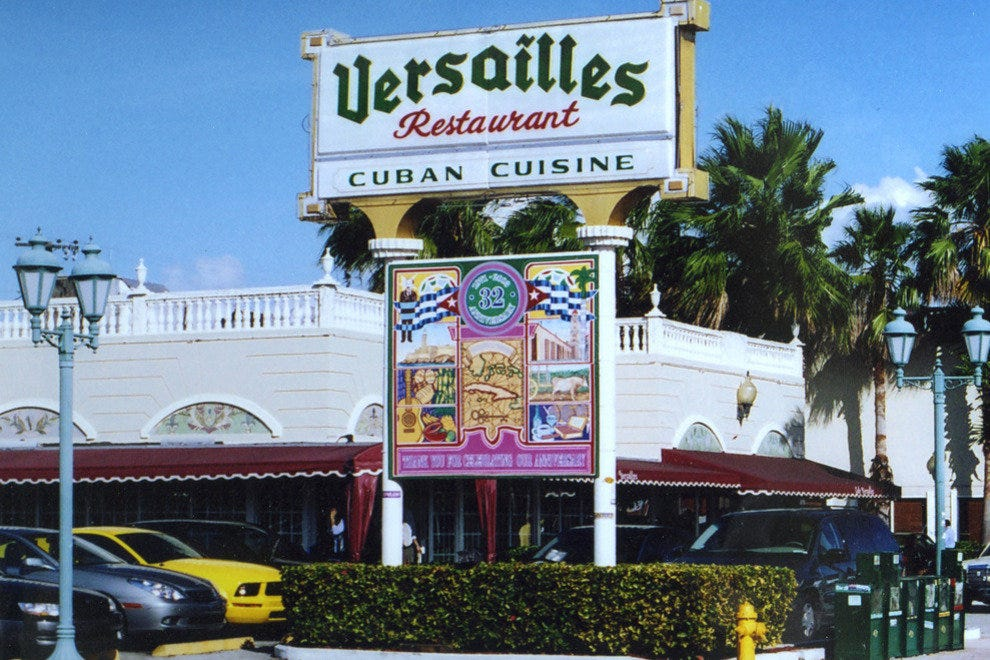 Miami's Most Famous Cuban Food, Versailles Restaurant ...