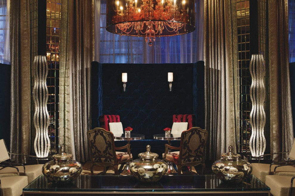 Lumen Lounge at the Ritz-Carlton Atlanta
