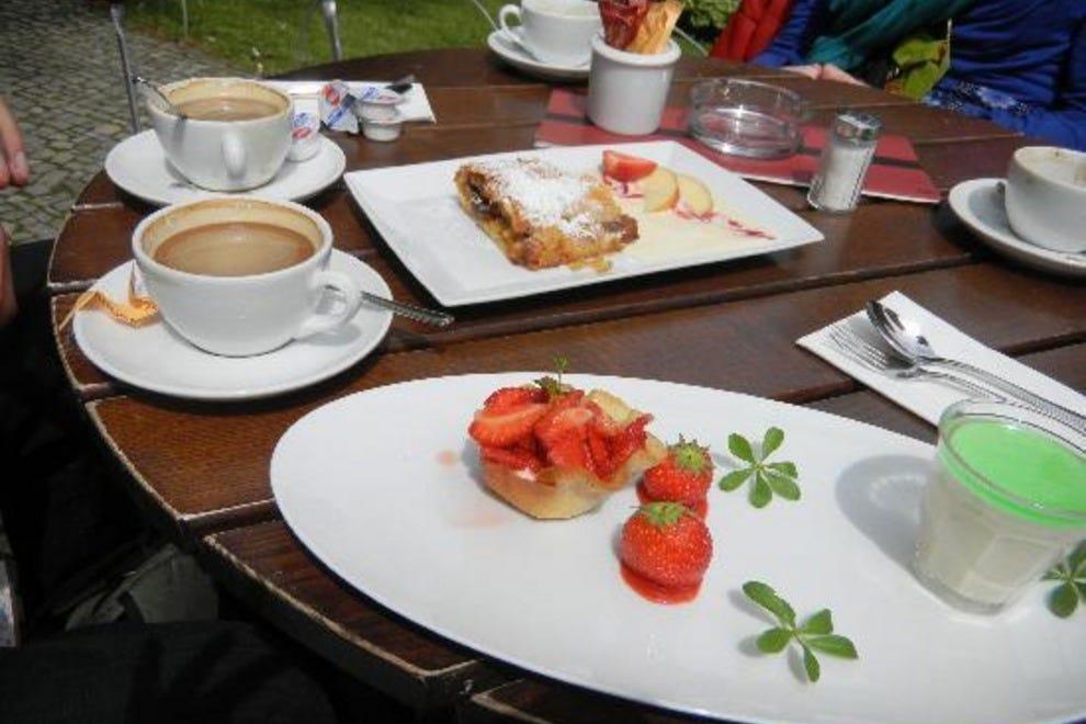 Cafe Wintergarten Berlin Menu