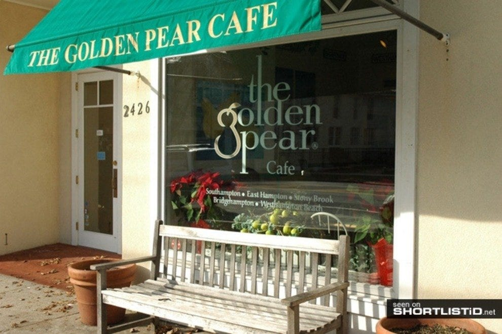 The Golden Pear Cafe Southampton New York