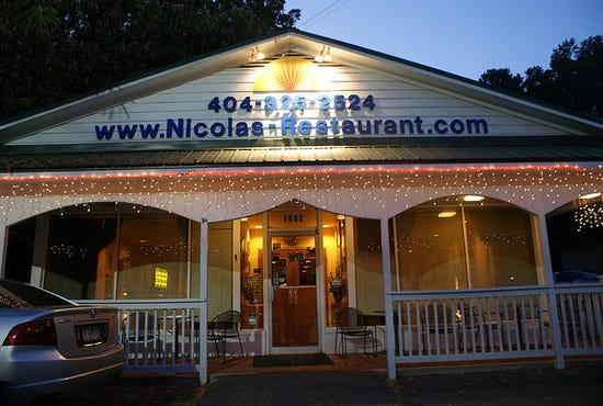 Nicola S Restaurant Atlanta Ga