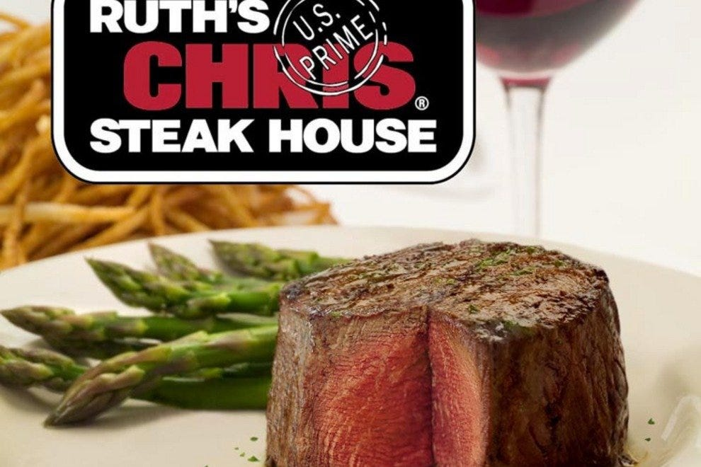 ruth chris $3995 for 3 course turkey dinner on 11/23 $4495 for a 3-course meal $30 ruth's filet & rose at the bar sunday – friday only $40 ruth's filet & cabernet at the bar sunday – friday only weekly deals and promotions 9% off gift cards ruth's chris steakhouse locations ruth's chris steakhouse menu.