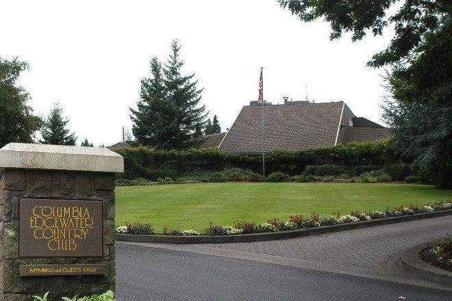 Columbia Edgewater Country Club