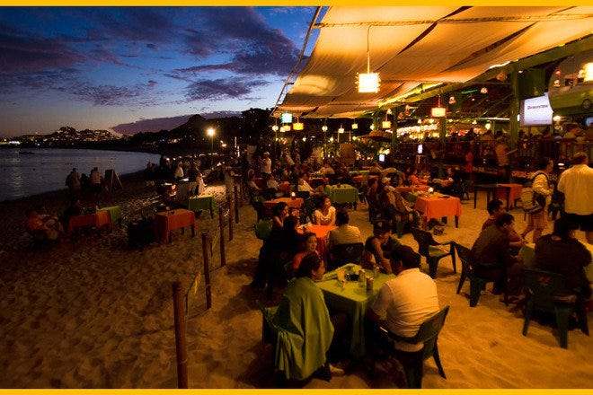 Beach Bars in Cabo San Lucas
