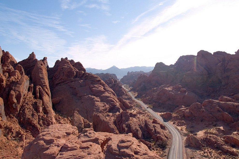 The Rocky Terrain of the Valley of Fire