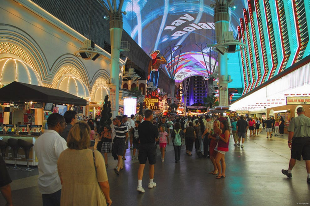 Things To Do In Downtown Las Vegas Neighborhood Travel