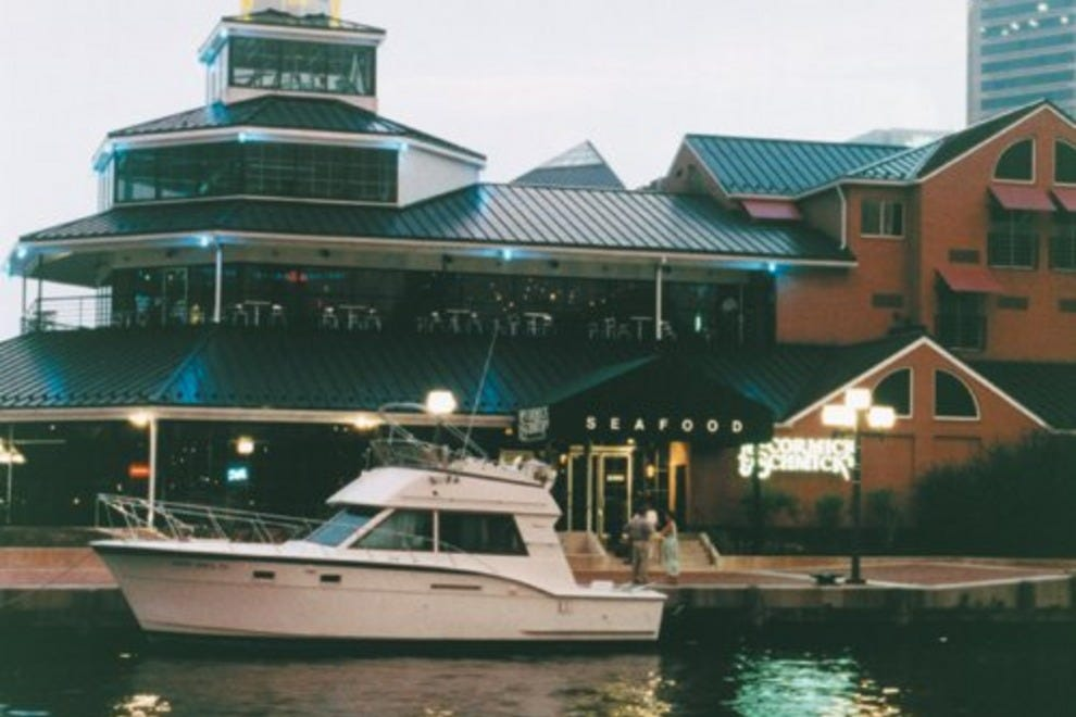 Baltimore Inner Harbor Seafood Restaurants