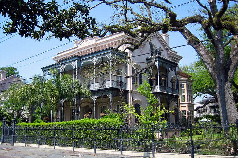 New orleans outdoor activities 10best outdoors reviews - Parking garden district new orleans ...