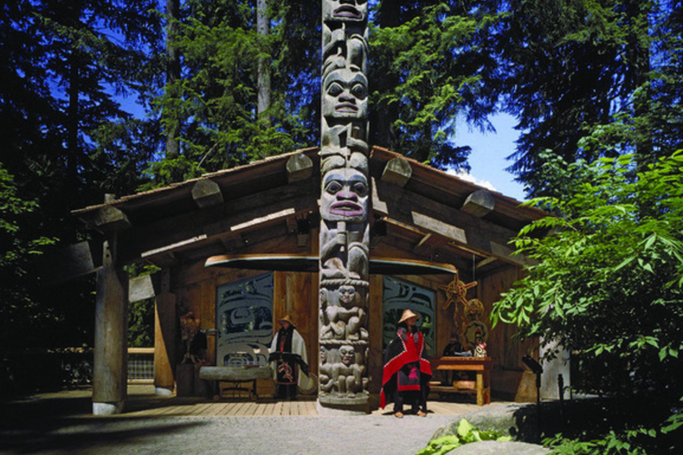 Totem Pole at Capilano Suspension Bridge