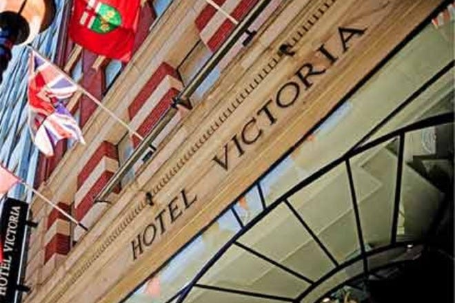 Entrance to Hotel Victoria. Photo Courtesy of Tourism Toronto.