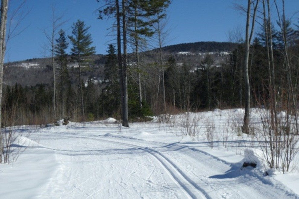 Nordic skiing at the Sunday River Outdoor Center in Bethel