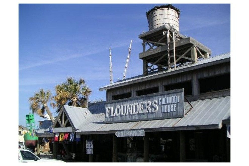 Flounders Chowder Ale House Pensacola Restaurants Review