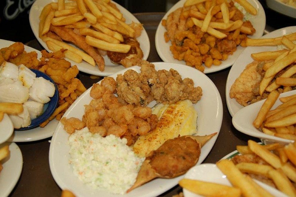 Best Fried Seafood In North Myrtle Beach