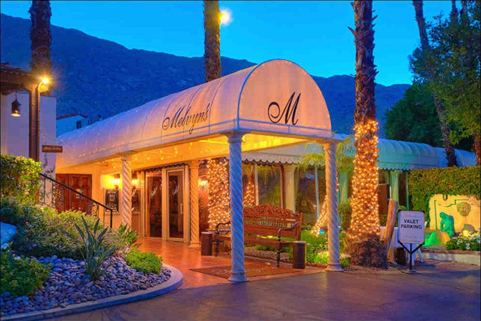 Melvyns Restaurant Palm Springs Restaurants Review 10best