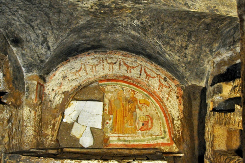 An overview of the catacombs and christian persecutions