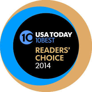 USA TODAY 10Best Readers' Choice Awards logo
